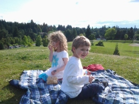 Picnic on Hills at Gabriel Park